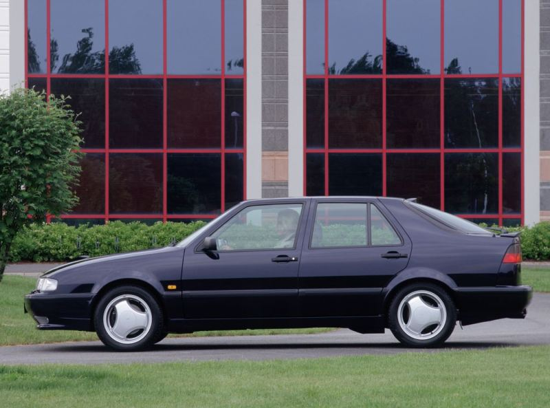 Saab 9000 Aero. Image: Saab Automobile AB