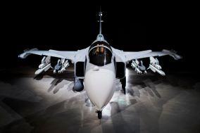 2017 will make its first test flights. Image: Saab AB