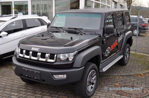 BAIC BJ40 2.3 Turbo