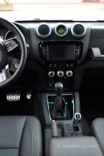 Console centrale e cambio Aisin 6 automatico