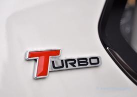 T wie Turbo. Aber mehr ein laues Lüftchen.
