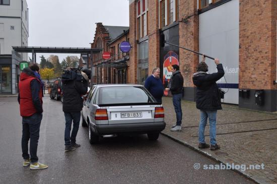 Film Crew bei der Arbeit