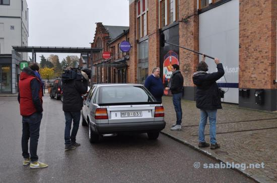 Filmpersonal på jobbet