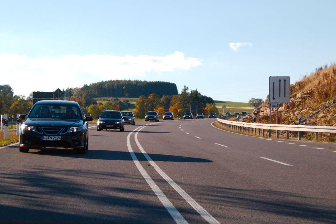 Herbstauffahrt Saab amigos Saxônia