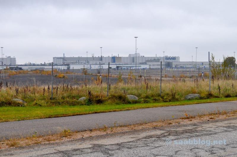 Saab Werk im Oktober 2016
