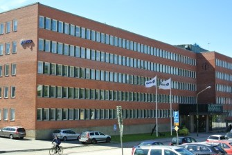 Saab Flaggen in Karlskrona