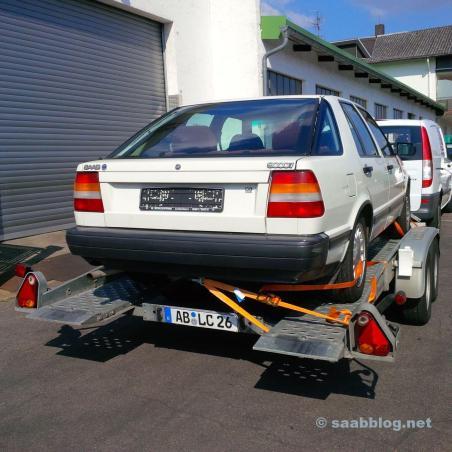 Dieser 89er 9000 CC sollte mal unser Community Saab werden.