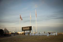 Se tient toujours le bouclier de Saab.