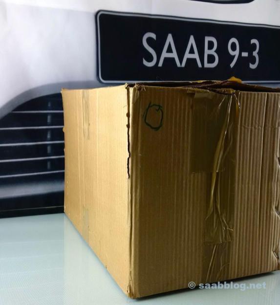 Een van 3 Saab-pakketten.