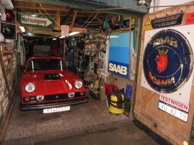 Och i det lokala garageet. Bild: Thorsten Ziehm