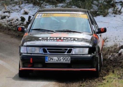 Saab R900 im Rallye Einsatz. Bild: J. Grobusch