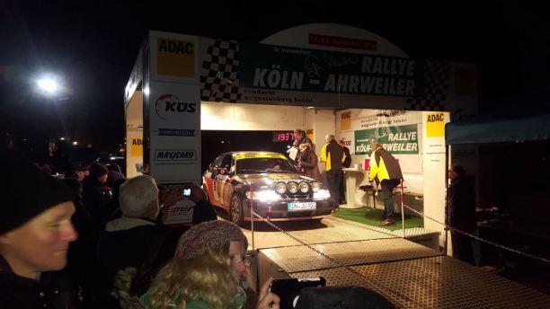 Seger på Rally Köln Ahrweiler belönades. Bild: J. Grobusch