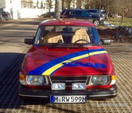 O Saab 99 do Team Wagenheimer ...