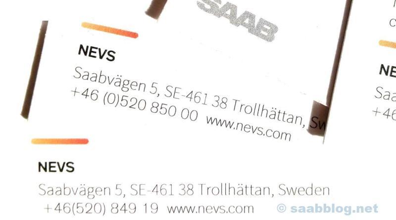 Neuigkeiten aus dem Saabvägen 5