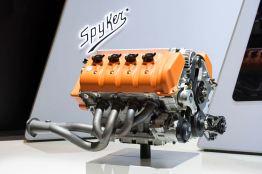 En V8 med 5 liter kubik kapacitet. Foto: Spyker.