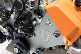 Ingen turboladdare, men 600 Nm vridmoment. Foto: Spyker.