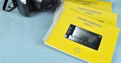 Ein Fahrtenbuch für unseren Projektsaab