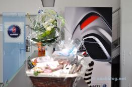 Saab Impressionen aus dem Showroom