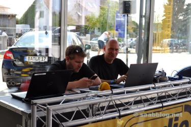 Radio Bamberg broadcasts live.