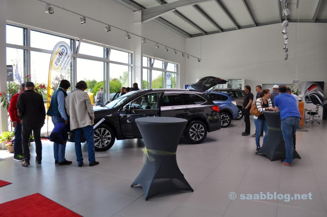The new showroom in Bamberg.