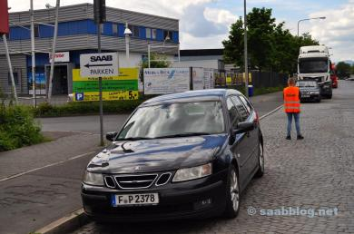 Estacionamento Saab