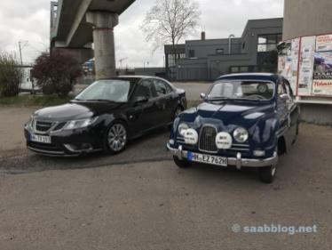 Saab Drömbils en el Oldie Tanke