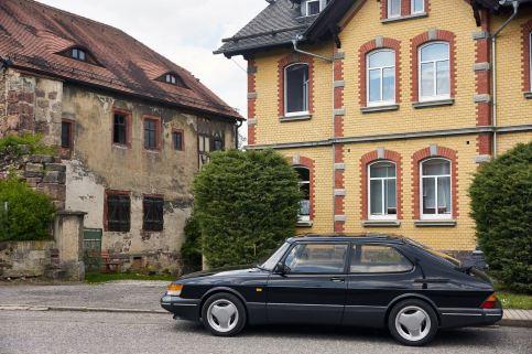Весенний отъезд друзей Saab Тюрингия
