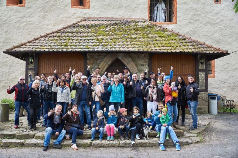 Foto de lembrança dos participantes