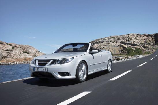 Saab 9-3 Cabriolet nach dem Facelift zum MY 2008. Bild: Saab Automobile AB