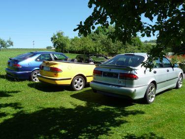 Viggen, Aero e Cabriolet. Foto: Hans