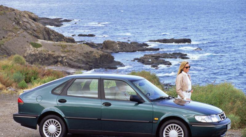 Saab 900 II. Schweden Promo 1993.