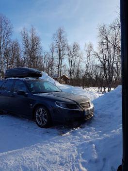 Saab 9-5 в Швеции. Построен для жестких условий
