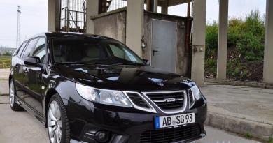 Lust auf Saab. Saab 9-3 Griffin Black Edition.