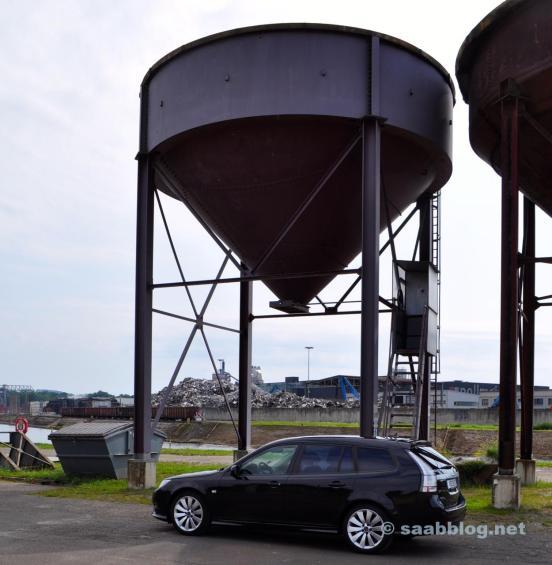 Saab 9-3 im 2011er Griffin Design