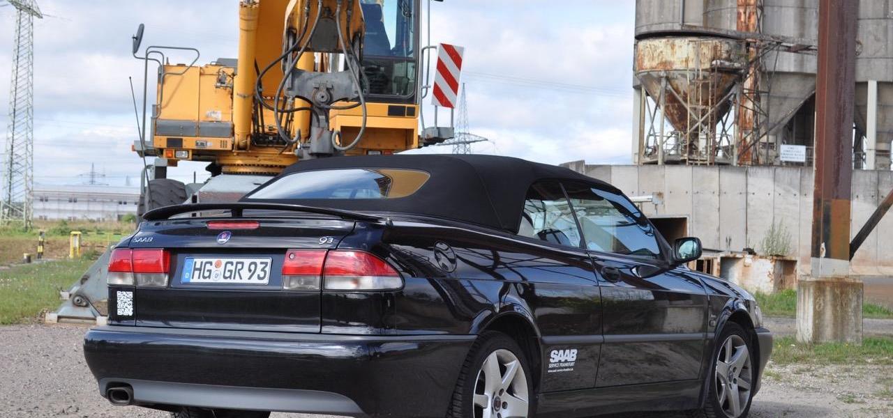Saab 9-3 Aero Cabriolet. Formel Spass 324.000.