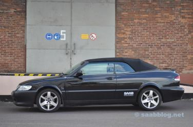 In de typische Saab-stijl