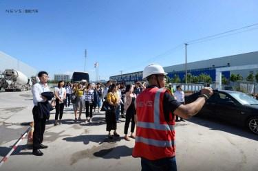 Chinesische Besuchergruppe. Photo Credit: NEVS