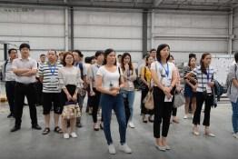 Grupo de visitantes ... Crédito de la foto: NEVS