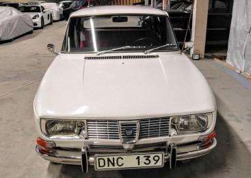 Saab 99 1971. A milestone for Saab. Image: Bilweb Auctions