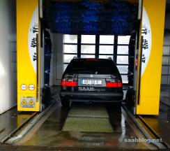 Wenn es mal schnell gehen muss. Sonst ist textile Fahrzeugpflege angesagt.