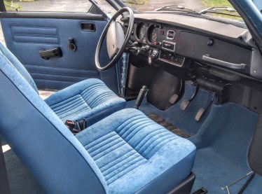 The jubilee edition of the Saab 96. Image: Bilweb Auctions