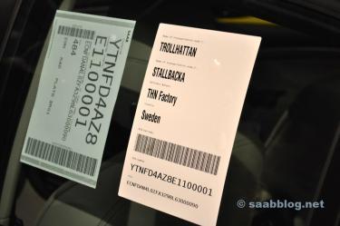 Produção de Saab em Trollhättan