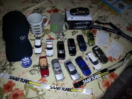 Meine Saab Sammlung