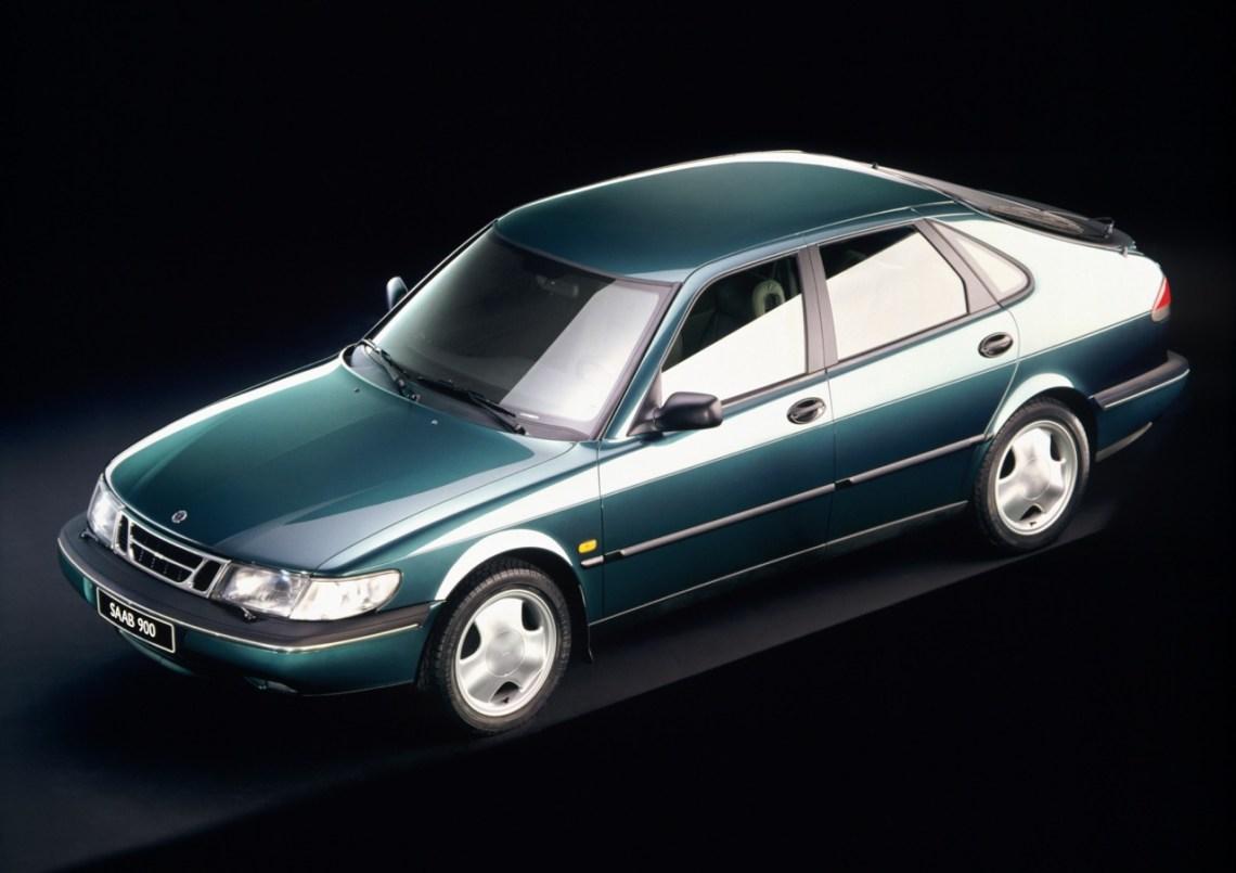 Saab 900 II foto de imprensa 1993