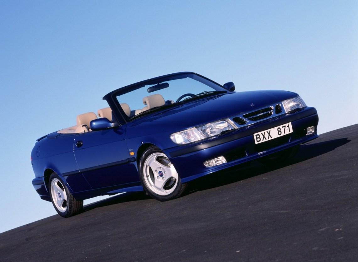 Saab 9-3 Cabriolet. Image: Saab Automobile AB / Archive saabblog.net