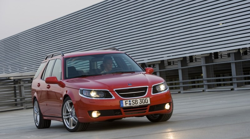 "Saab 9-5 Deer ""Chrome Goggles"""