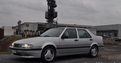 Saab 9000. Dynamique de conduite ou dromadaire?