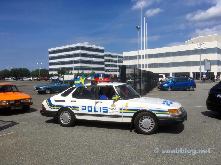 Saab 900 Polis