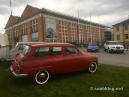 På Saab-museet