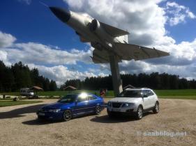 3 x Saab